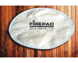 Firepit Pad Pit Pad Deck Protector By Newtex What To Put A On Grass