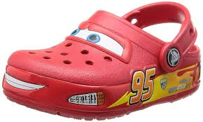 crocs light up boots crocs kids cars light up clog shoe red 11 m us little kid amazon