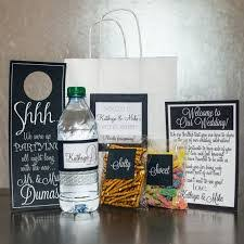 wedding gift bags for guests set of 6 out of town guest box wedding welcome box wedding