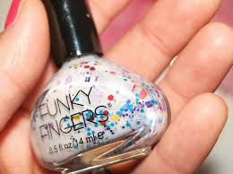 day 20 funky fingers nail polish review ebay seller