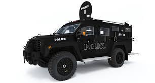 tactical jeep swat vehicle 3d model