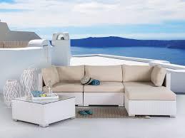 salon de veranda en osier best salon de jardin en rotin blanc photos home design ideas