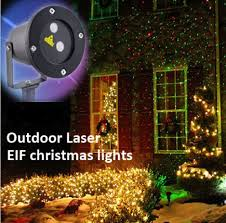 outdoor ip44 waterproof laser light elf light christmas lights