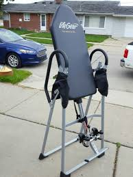 Lifegear Inversion Table Life Gear Gravity Inversion Table In Troy Letgo
