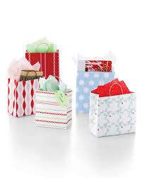 christmas wrap bags christmas gift wrapping ideas martha stewart