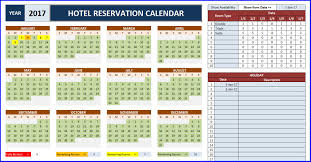 room booking calendar for excel excelindo