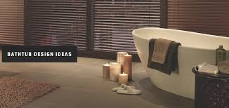 bathtub design ideas custom window coverings durango
