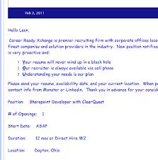 Worst Resumes Ever The Worst Recruitment Spam I U0027ve Ever Read Secretgeek Net