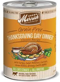 merrick thanksgiving dinner can 13 2 oz lebanon pet
