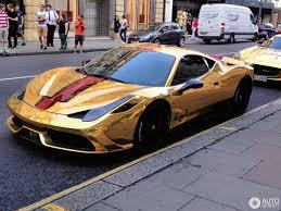 ferrari gold ferrari 458 speciale 28 february 2017 autogespot