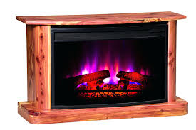 sedona 23 electric fireplace entertainment center in rustic oak