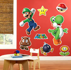 mario wrapping paper mario party supplies birthdayexpress