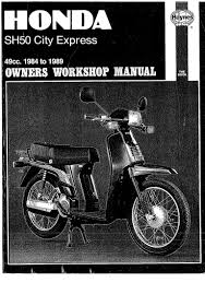 honda scoopy sh50 manual 1 of 6 pdf