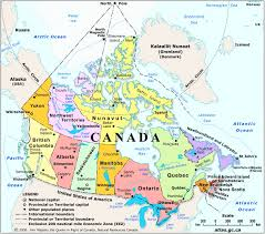 Appalachian Mountains Canada Map by Geography