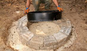 Fire Pit Ring With Grill by How To Build Your Own Fire Pit 6 Steps With Pictures