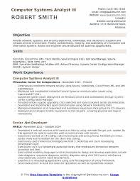 Systems Analyst Resume Sample by Systems Analyst Resume Sample Example Contegri Com