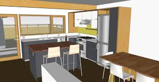 sketchup texture model kitchen exceptional sketchup kitchen design