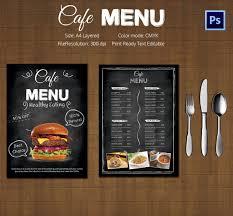menu brochure template free bbapowers info