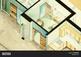 isometric partial architectural image u0026 photo bigstock