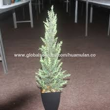 china artificial tree with led light potted artificial plants