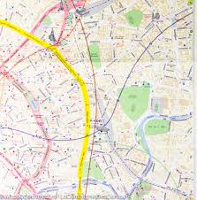 Moscow Map City Map Of Moscow Russia Itm U2013 Mapscompany