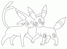 umbreon coloring page 290767