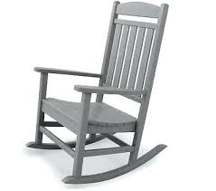 Black Rocking Chairs Lowes Outdoor Cr Plastic Generations Recycled Plastic Adirondack Rocking