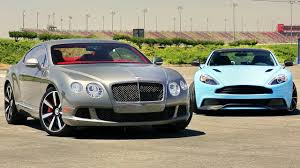 sports car prices bentley continental 2014 aston martin vanquish vs 2013 bentley continental gt speed