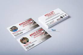 Business Card For Construction Company Projects Archive Profit Peak Marketing In Eau Claire Wi