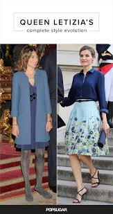 queen letizia of spain u0027s evolution popsugar latina