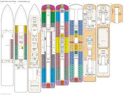 pacific princess deck plans diagrams pictures video