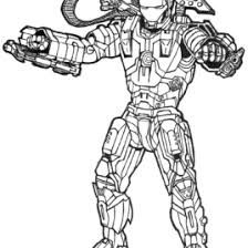 coloring pages iron man 3 kids drawing coloring pages marisa