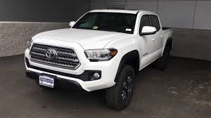 toyota trd package tacoma 2017 tacoma trd road w premium tech package in depth look