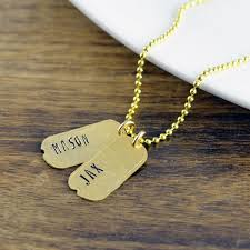 mens personalized necklace mens tag necklace personalized mens necklace dog tag necklace