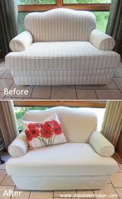 Armchair Slip Cover Decorations Comfort White Loveseat Slipcover U2014 Iahrapd2016 Info