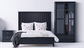 All Black Bedroom Furniture by Undredal Series Ikea