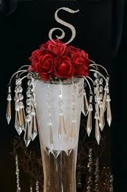 Cake Vase Set My Chandelier Cake Topper Weddings Fun Stuff Style And Decor