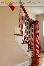 Christmas Railing Decorations 35 Irresistible Ideas To Decorate Your Stairs In The Spirit Of