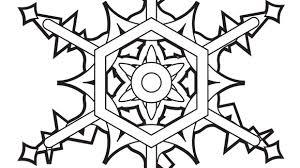 snowflake coloring pages bestofcoloring