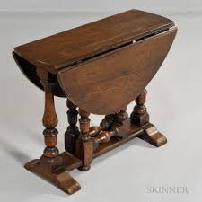 Drop Side Table Search All Lots Skinner Auctioneers