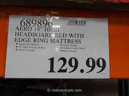aerobed headboard queen bed