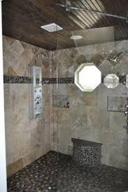 custom walk in showers bathrooms before after