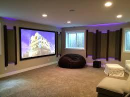 home design basement theater design ideas shabbychic style