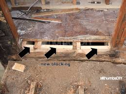 Rotten Bathroom Floor - how i replaced a rotted rim joist and sill plates u2013 part 1 of 4