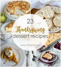 23 thanksgiving dessert recipes lolly