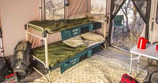 Bunk Bed With Tent At The Bottom Portable Bunk Bed A Versatile Sleeping Solution For Cing Sia