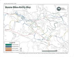 App State Campus Map by Bike App Outdoor Programs