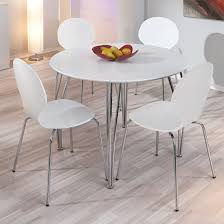 Small Circular Dining Table And Chairs Best 25 Round Table And Chairs Ideas On Pinterest White Within