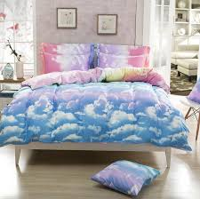 Shop Bedding Sets Awesome Shop 4piece King Size Rainbow Bedding Set