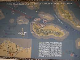 Guadalcanal Map History Facing China